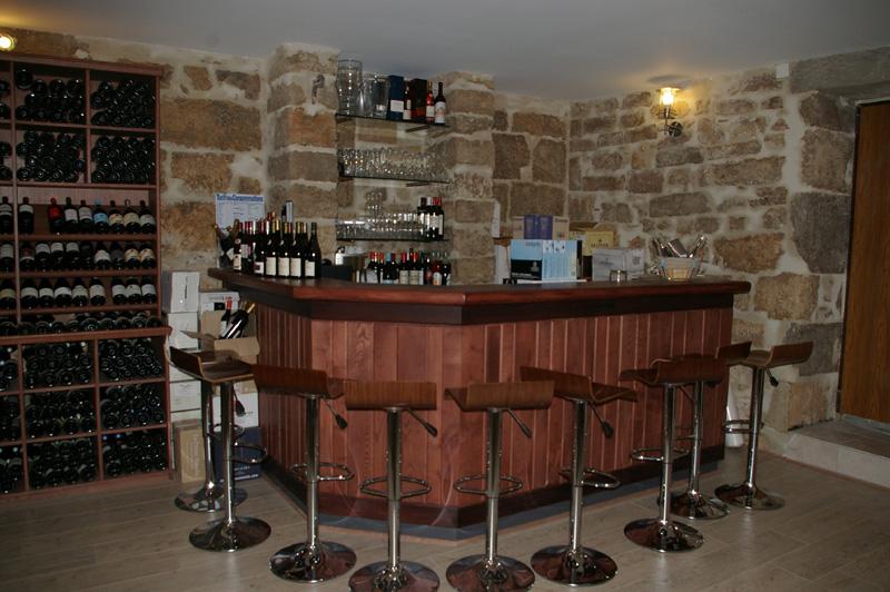 Cave a vins le bar