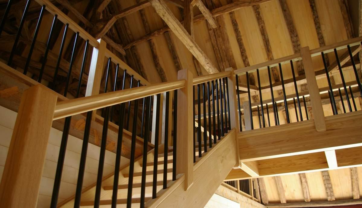 Escalier, passerelle et garde corps